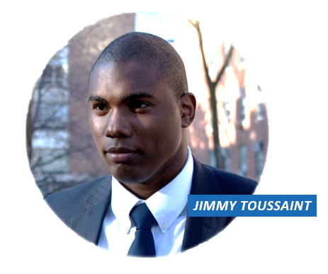Jimmy Toussaint Profile Website